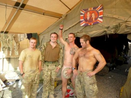 british soldiers naked pics