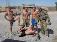 amateur dudes in the army having sex