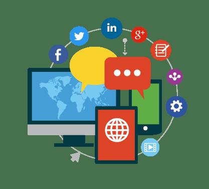 ادارة مواقع التواصل الإجتماعي - مؤسسة سين للتسويق الإلكتروني