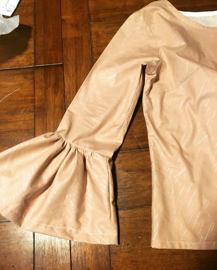 Tutorial: Gathered Belle Sleeve Top