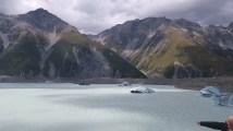 Blick auf den Tasman-Gletscher