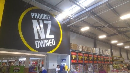 Kiwi-owned ist die Supermarktkette Pak 'n Save