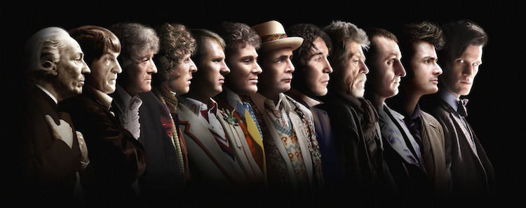 The Twelve Doctors, Image: BBC