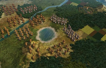 Developers are promising a more epic feel to battles in Civ5