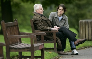 Derek Jacobi and Rupert Evans star in Sidney Turtlebaum