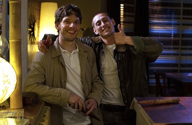 Damien Molony and Michael Socha - Being Human's new leading men. Image Touchpaper / Huw John