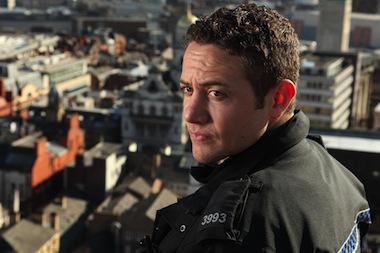 Warren Brown, seen here in Good Cop, heads the cast of By Any Means. Image BBC