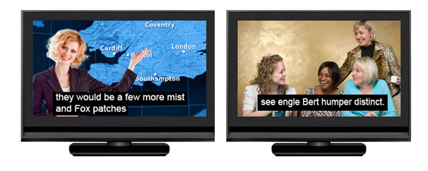 Ofcom says the quality of live subtitles is unsatisfactory.