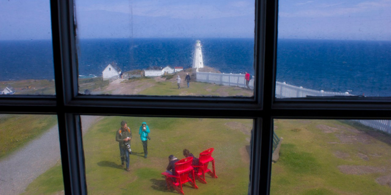 A View of Cape Spear Lighthouse