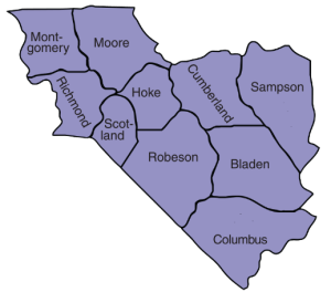 10 Counties Served by SEEN