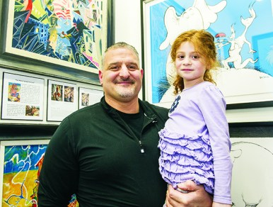 Jack and 5-year-old Angelica Seman of Bloomfield Hills