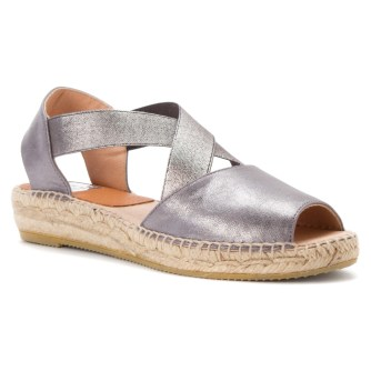 Kanna CRISS-CROSS ESPADRILLE ($129) in Orion Grey, at Sundance Shoes, West Bloomfield (248-737-9059).