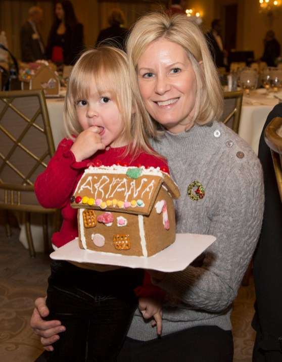 Ariana Kadlec, 3, of West Bloomfield and Marie Kadlec of Rochester Hills.