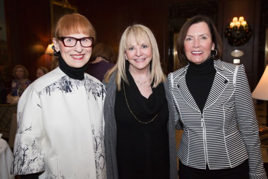Shirley Maddalena of Bloomfield Hills, sponsor and committee member Susan Kehoe of Bloomfield Hills, and Judy Sullivan of Birmingham.