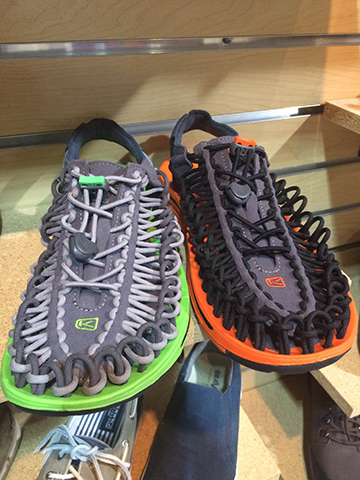 Men's Keen paracord walking sandals, $99.95 at Moosejaw, Rochester Hills.