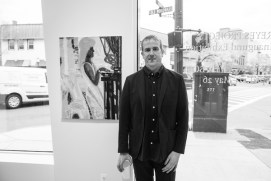 NS Gallery Opening for Terese Reyes jacob giampa photo 4 BW