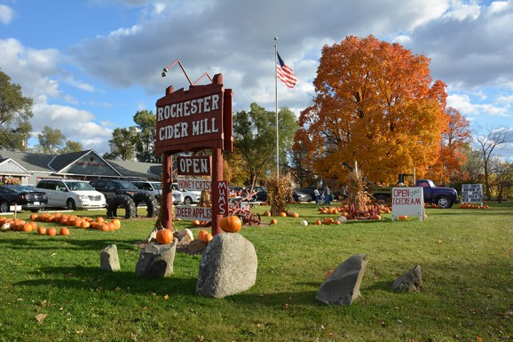 Rochester Cider Mill in Oakland Township.