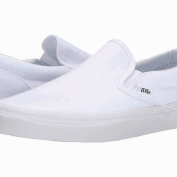 Vans Classic slip-on sneakers, $50