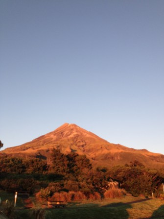 Mount Egmont in the morning light