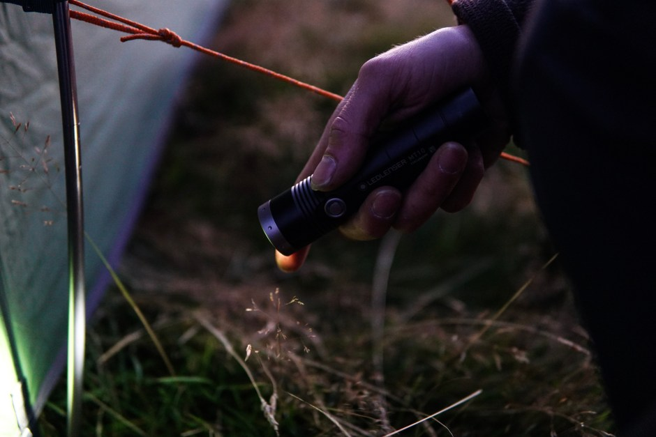 led lenser mt10 torch camping