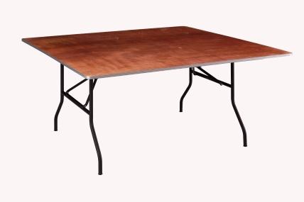 Table Carrée de 152 Cm