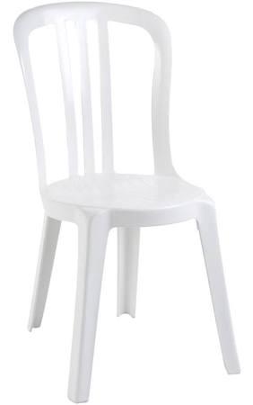 Chaise de Jardin Blanche