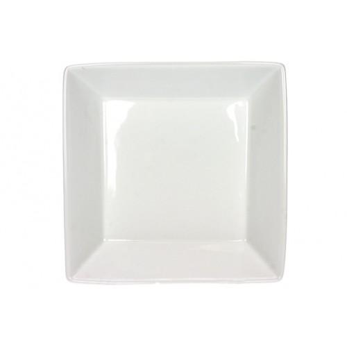 Assiette Creuse carrée de 18 Cm
