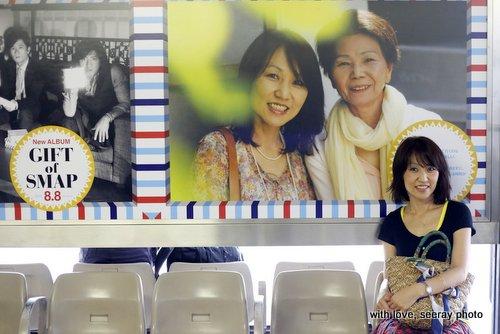 【SMAPプレゼンツ企画】家族写真が東京駅のポスターに掲載されました!