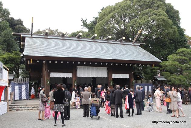 七五三・伊勢山皇大神宮の駐車場過去11/3・11/10(日)大安の混雑状況は?