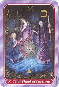 《塔羅命數》系列之10號牌命運之輪
