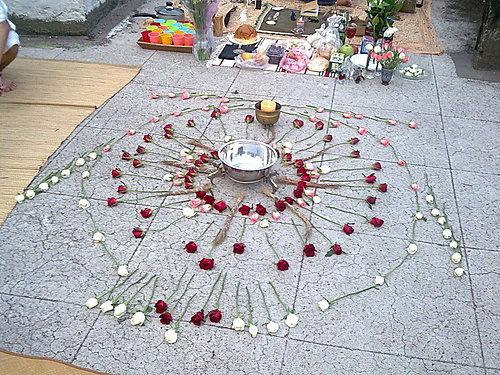 p1-三色玫瑰與聖約翰草的曼陀羅主祭壇