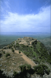 Nimrod's Fortress on Mt. Hermon. Source: see below.