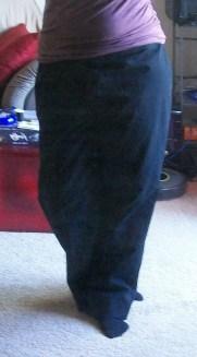 Front view of slacks
