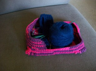 Basket from the side