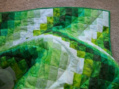 Quilt over my knees