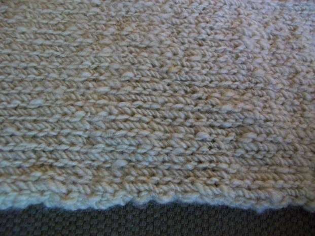 Closer view of the knit