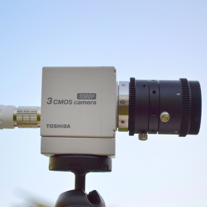 Canon IK-HD3H with lens