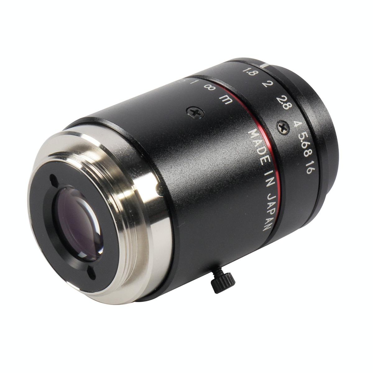 Kowa LM16JC10M lens rear 3/4 view