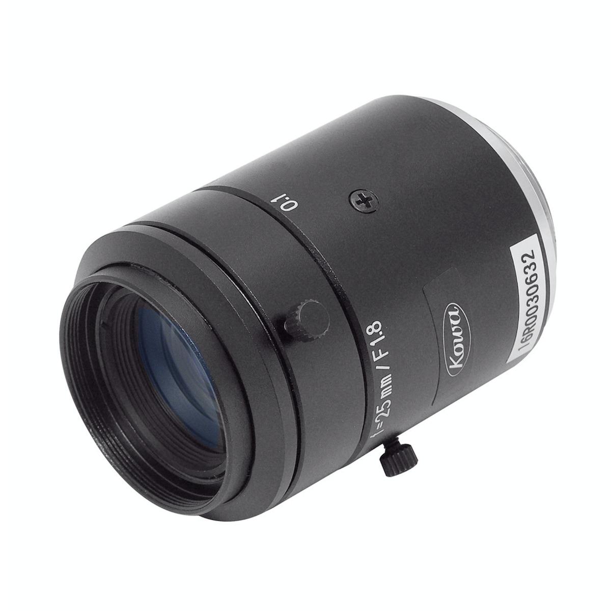 Kowa LM25JC10M lens 3/4 view