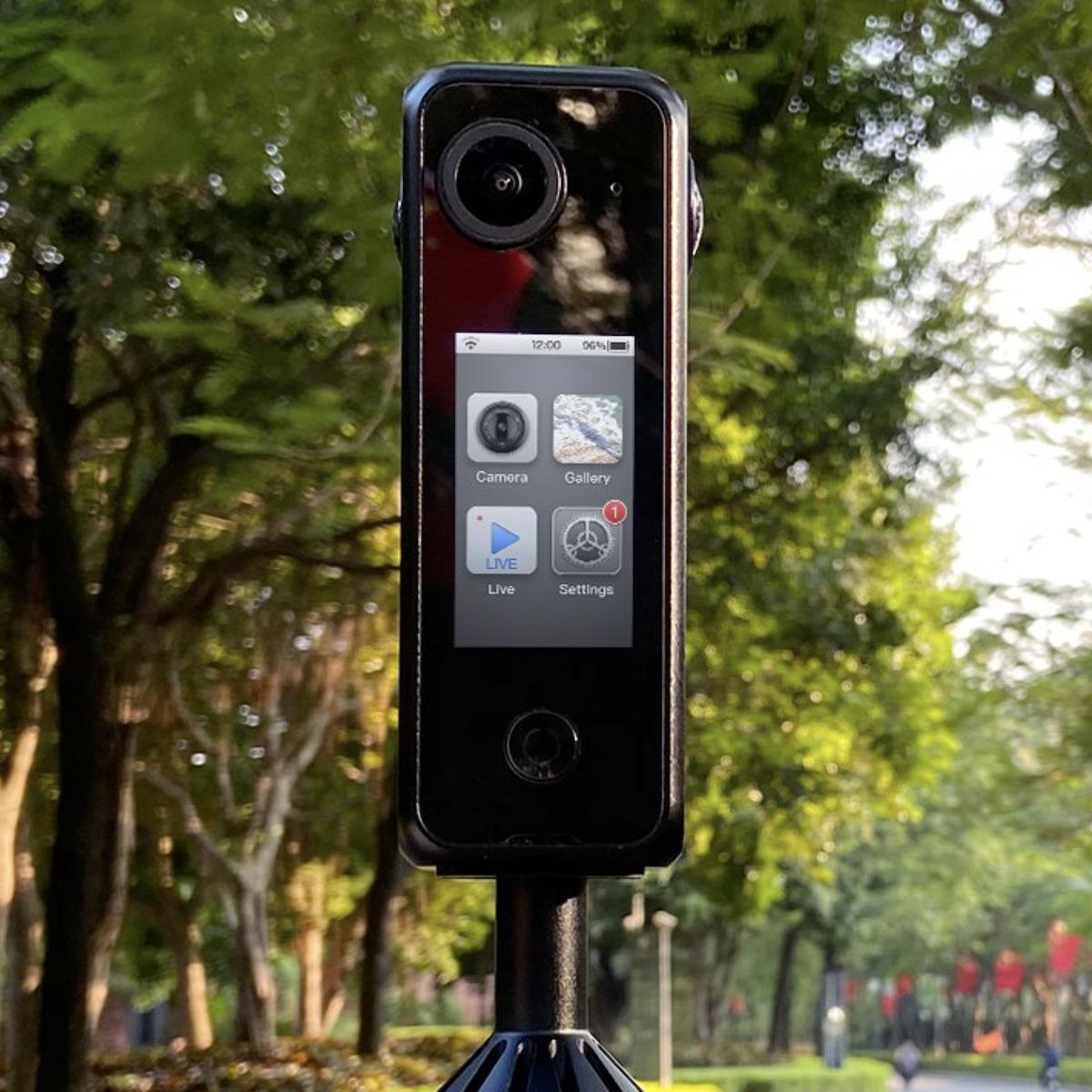 Labpano Pilot One Camera outdoors