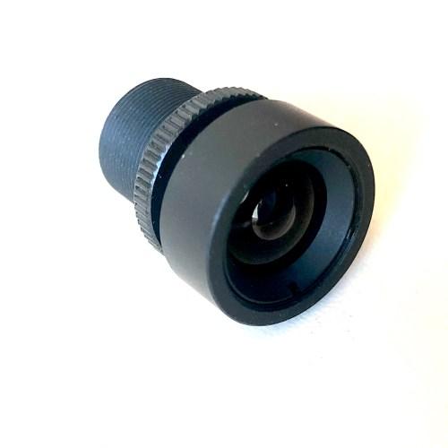 6.0mm 2MP HD No IR M12 lens 3/4 view