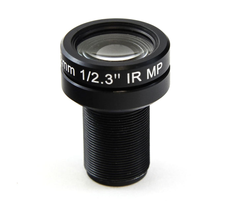 7.2mm 10MP 4K F2.4 M12 Lens