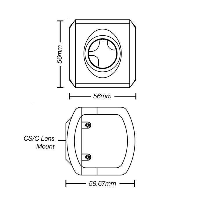 Marshall CV344 camera drawing