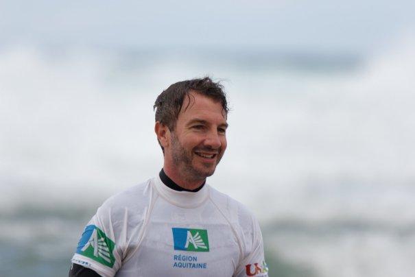 Jérémie a toujours un grand sourire lors des journées See Surf