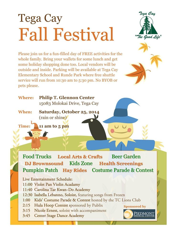Tega Cay Fall Festival 2014
