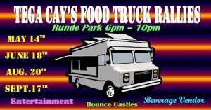 Tega Cay Food Truck Rallie Logo