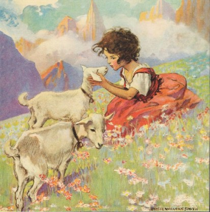 Jessie Willcox Smith - Heidi