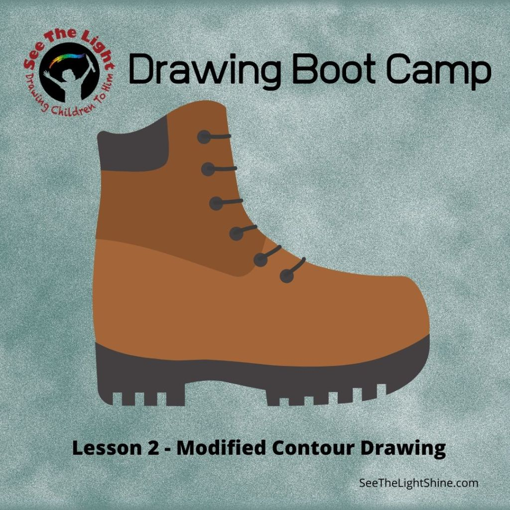 Drawing Boot Camp 2 - Modified Contour Drawing