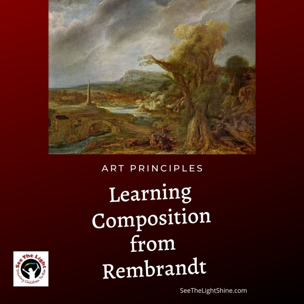 Learn Composition from Rembrandt