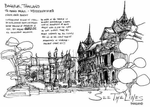 Thailand: The Grand Palace, Bangkok